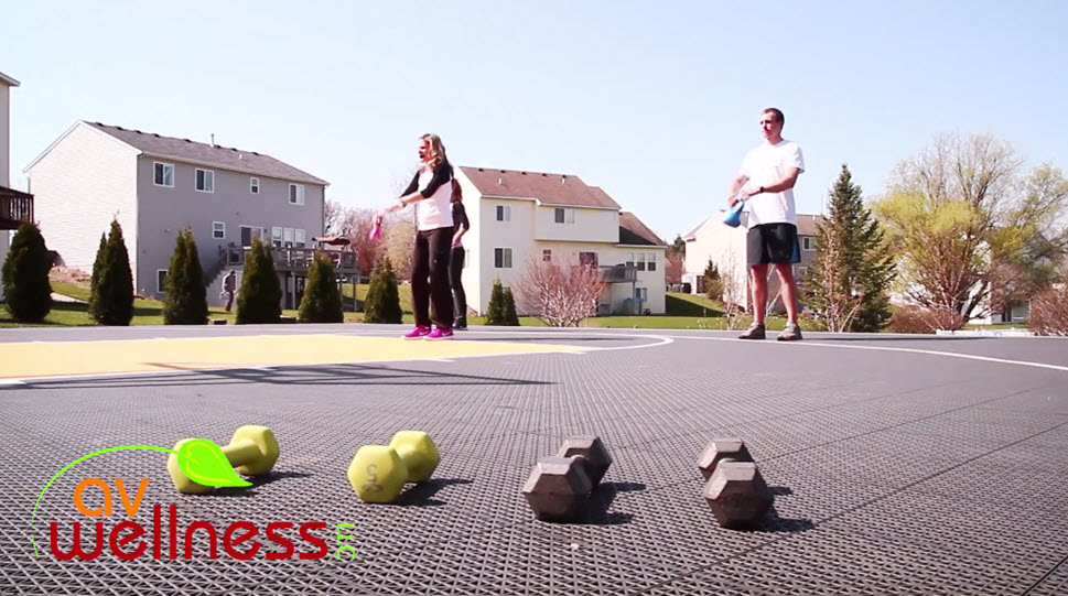 Kettlebell Strength & Cardio Workout